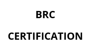 BRC Certification